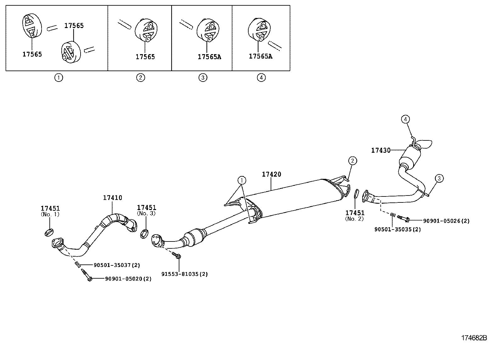 [EQHS_1162]  TOYOTA RAV4ACA33R-ANMGKQ - TOOL-ENGINE-FUEL - EXHAUST PIPE | Japan Parts EU | 2007 Rav4 Engine Diagram |  | Japan Parts EU