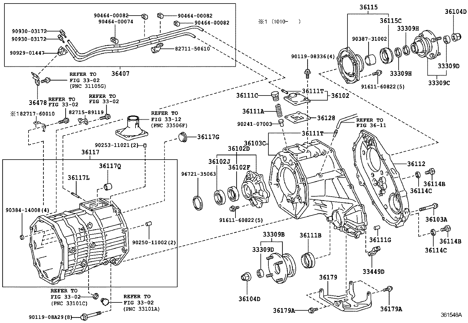 ford borg warner transfer case diagram