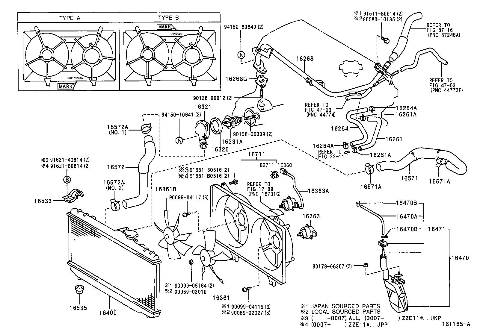toyota corollazze111l-dlmdkw - tool-engine-fuel