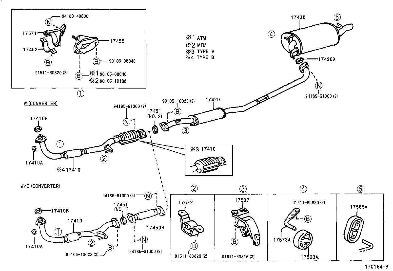 Toyota Camrysxv20l-aepnkw - Tool-engine-fuel