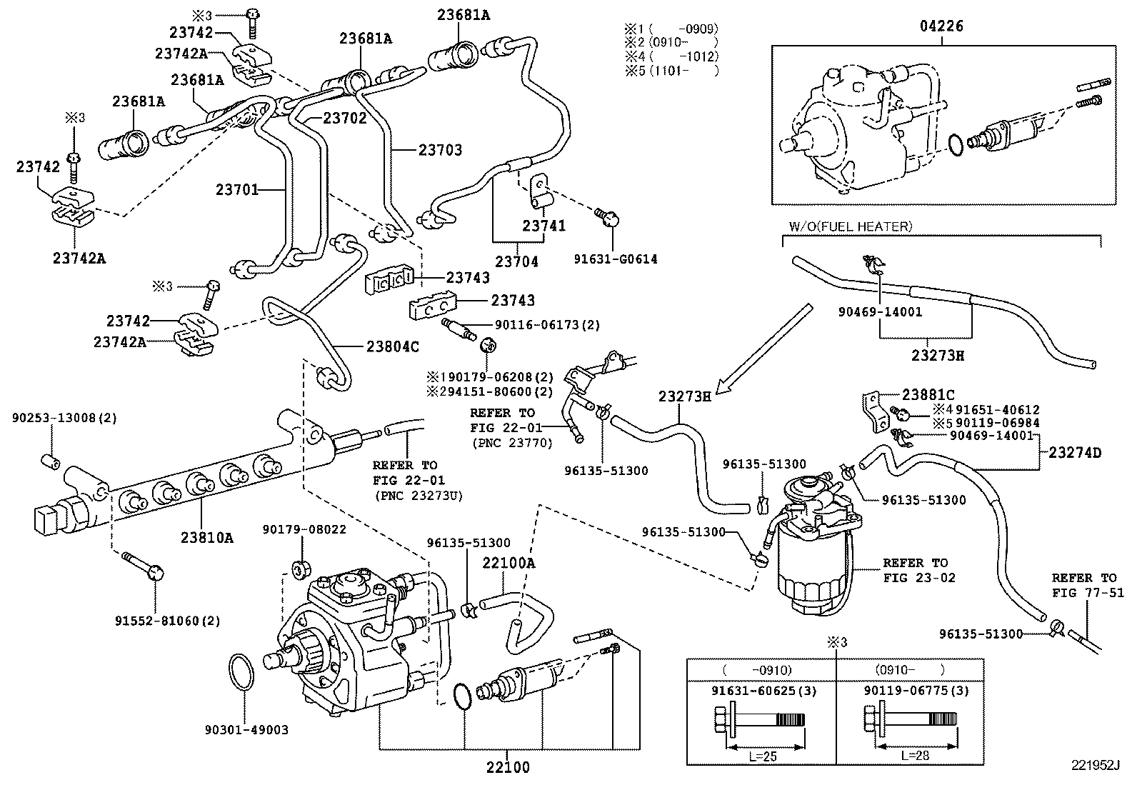 toyota matrix parts diagram