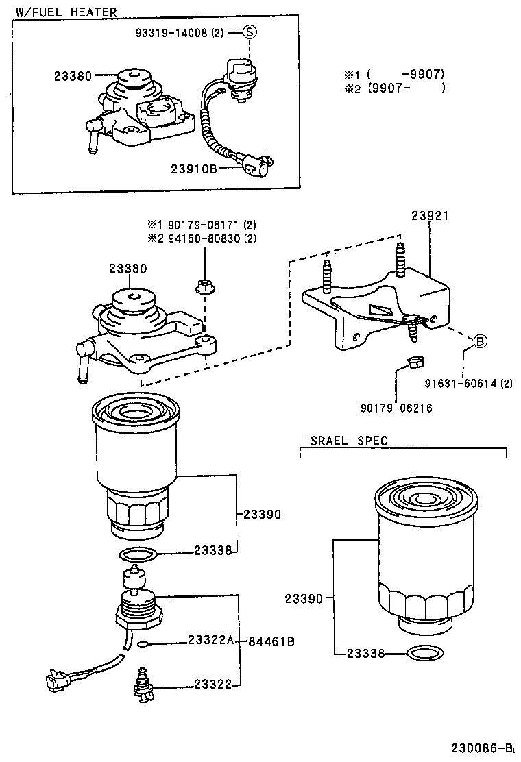 racor diesel fuel system diagram