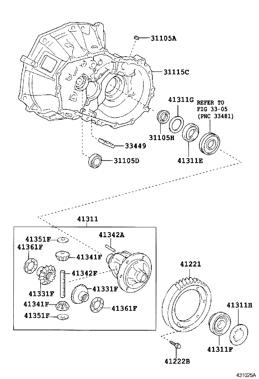 toyota yarisscp12l-chmgkw - powertrain-chassis