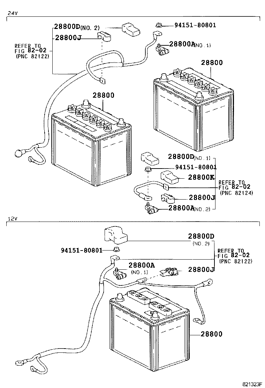 toyota dyna battery diagram  toyota  auto parts catalog
