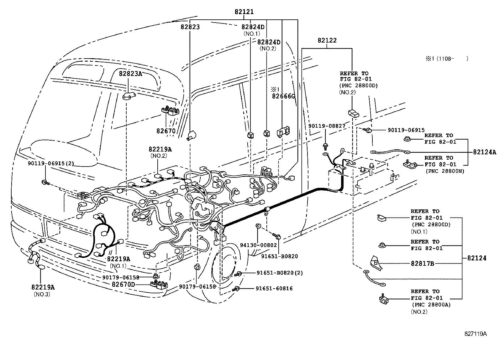 Toyota Coaster Bus Wiring Diagram Explained Diagrams Tacoma Harness Clamp Electrical Car Fuse Box U2022