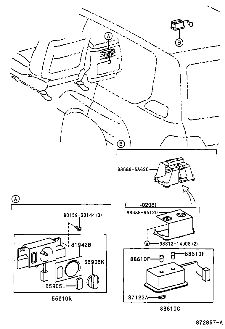 toyota tercel air conditioning diagram