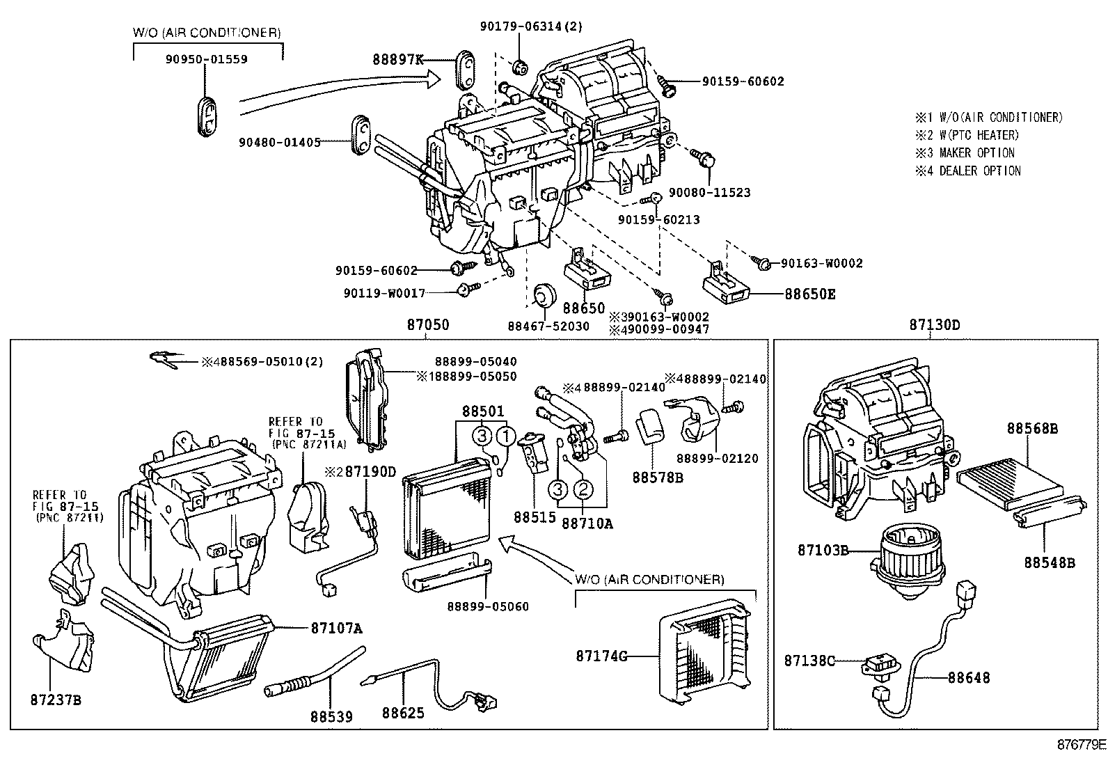 1997 toyota camry engine parts diagram