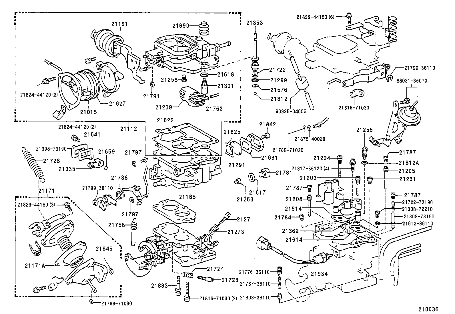 diagram of toyota parts  toyota  auto parts catalog and