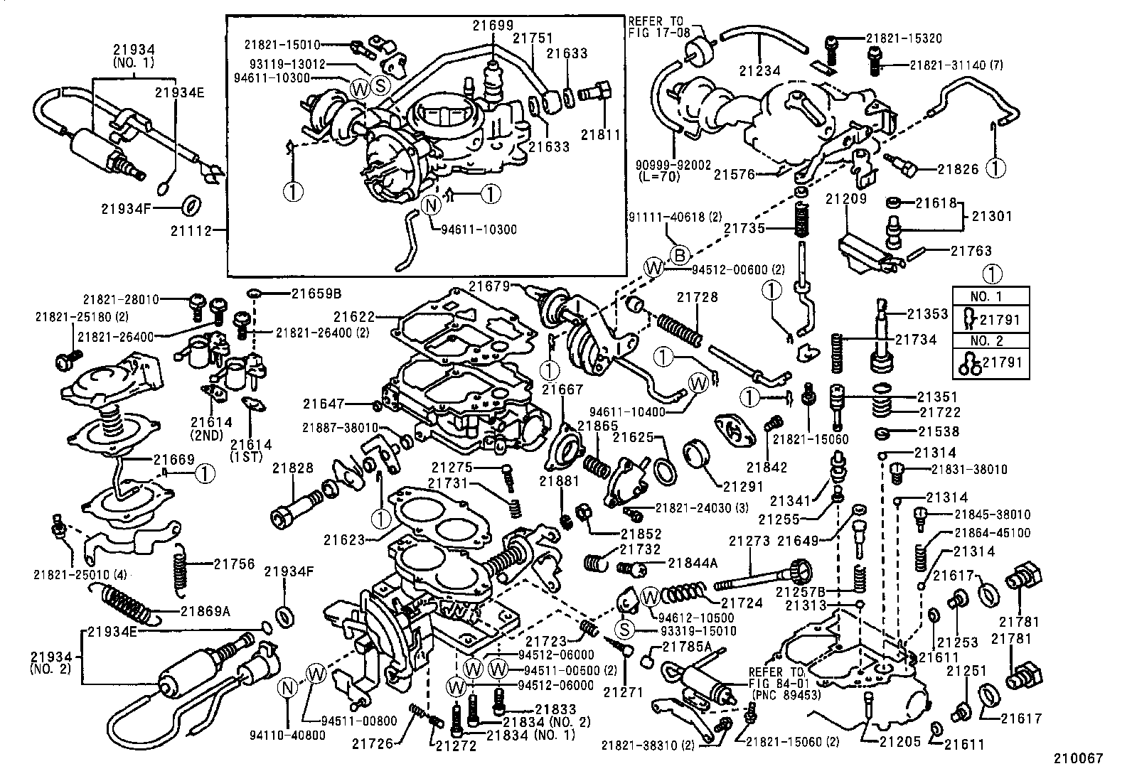 1987 toyota tercel carburetor diagram