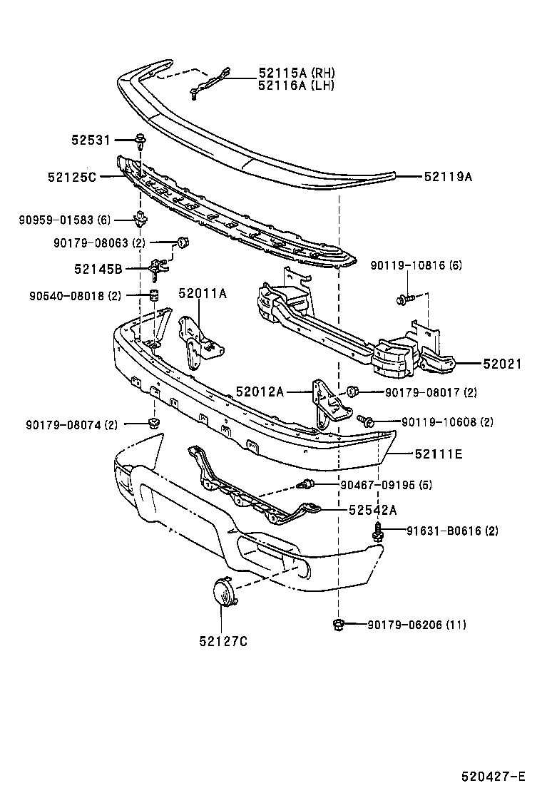 2000 camry front suspension diagram html
