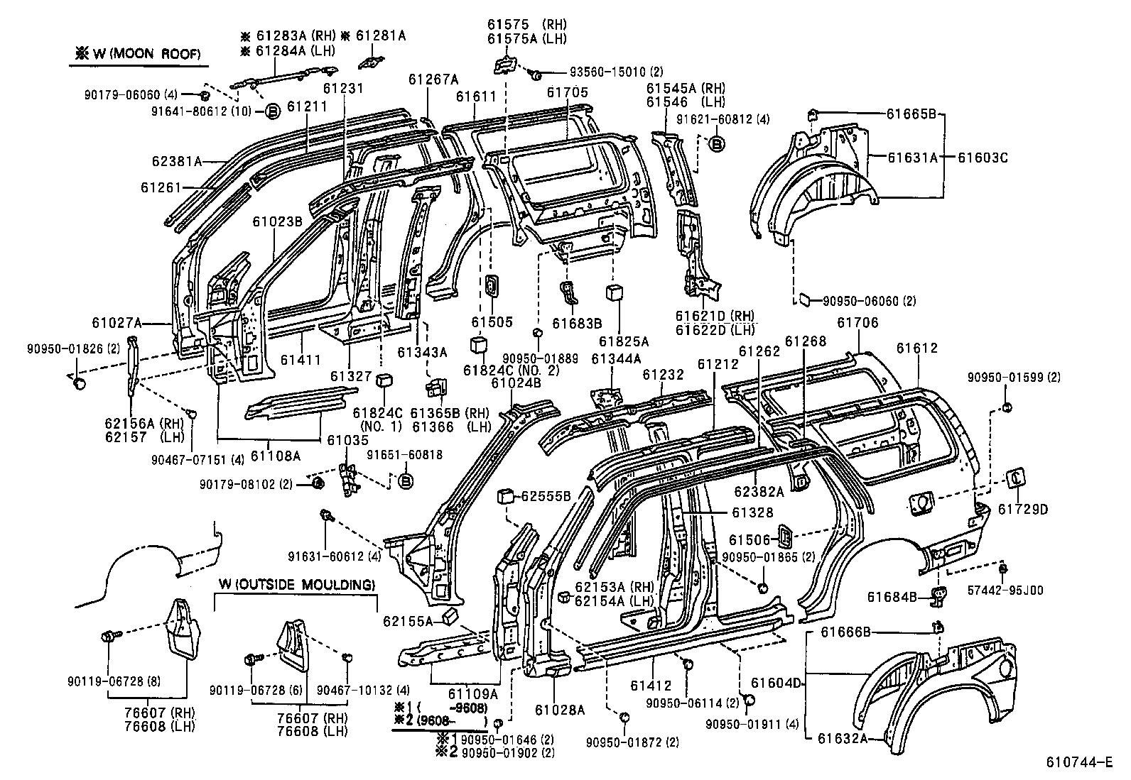 Toyota 5vzfe Engine Diagram Wiring And 2004 Suzuki Aerio Fuse 6151 Side Member On