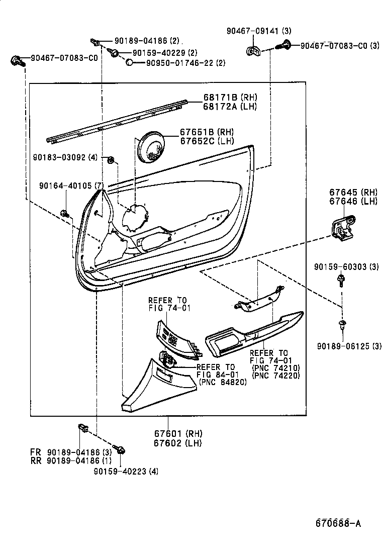 toyota supra parts diagram