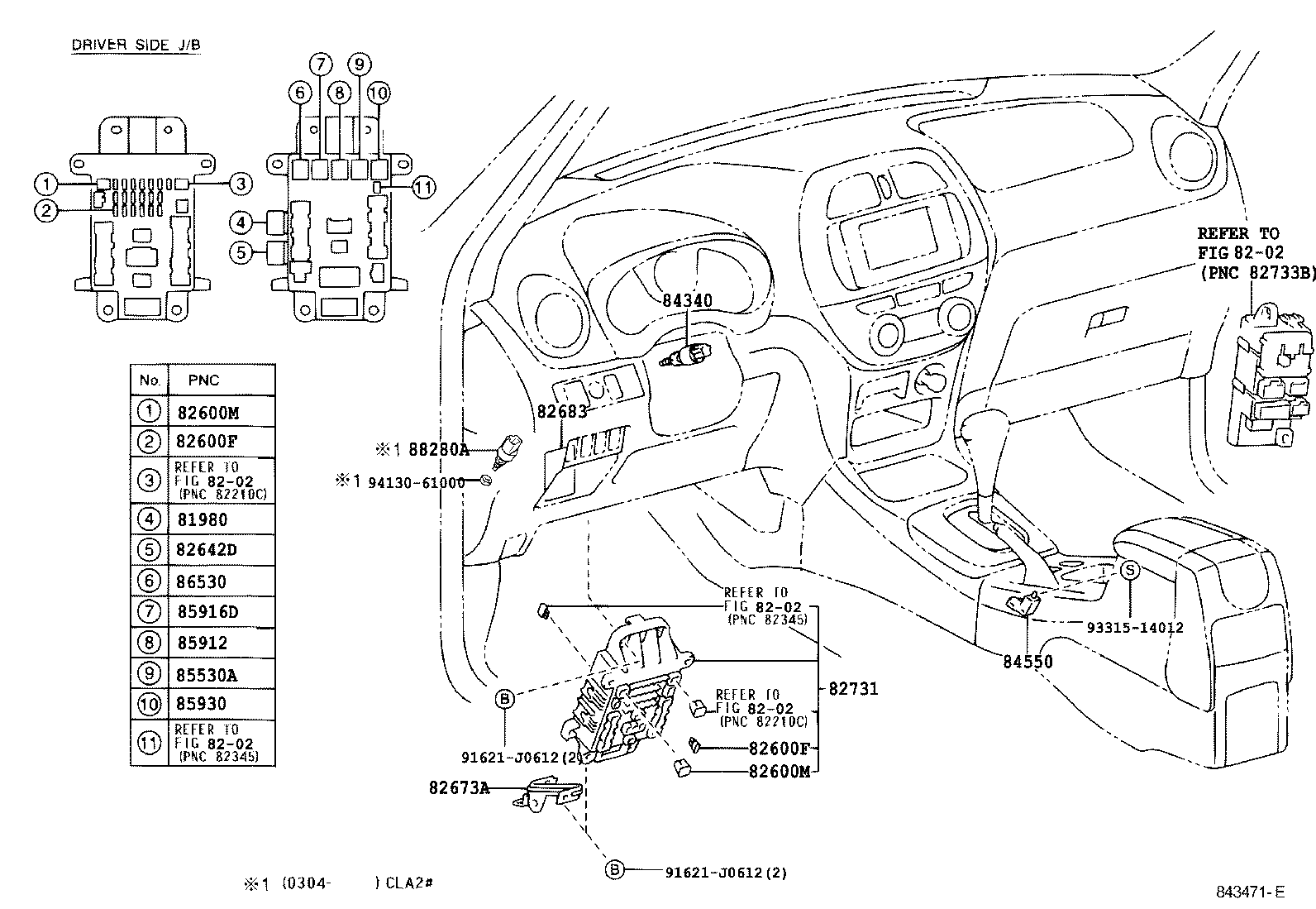 toyota rav4aca21l-awmnkw - electrical