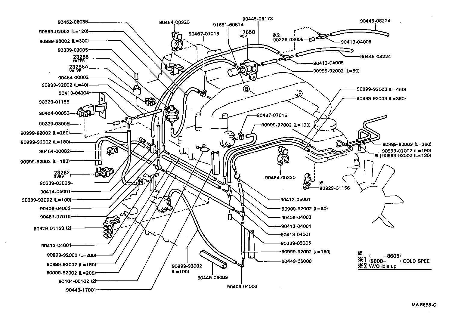 toyota coasterhb31r-mrx1 - tool-engine-fuel