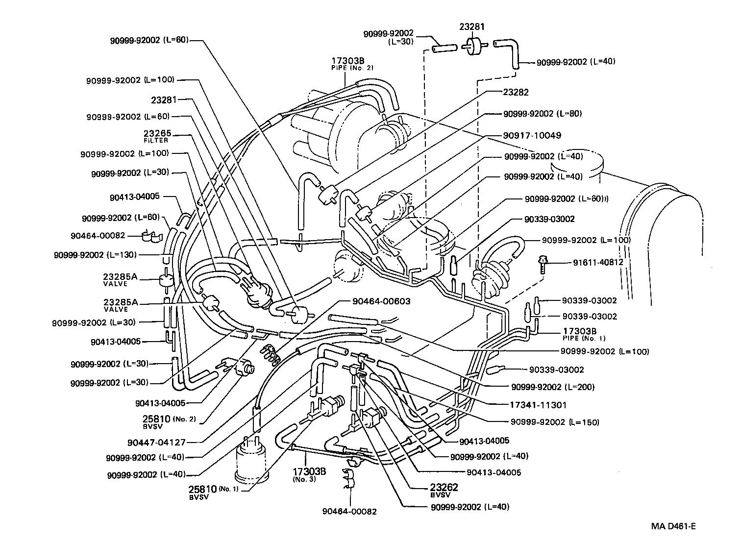 toyota starletep81l-ahmnsw - tool-engine-fuel