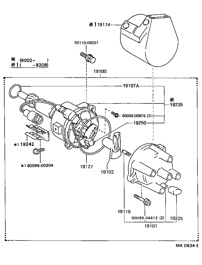 Toyota Hiluxrn110l Crmdew Tool Engine Fuel Distributor Japan 1973 Land Cruiser Std Part