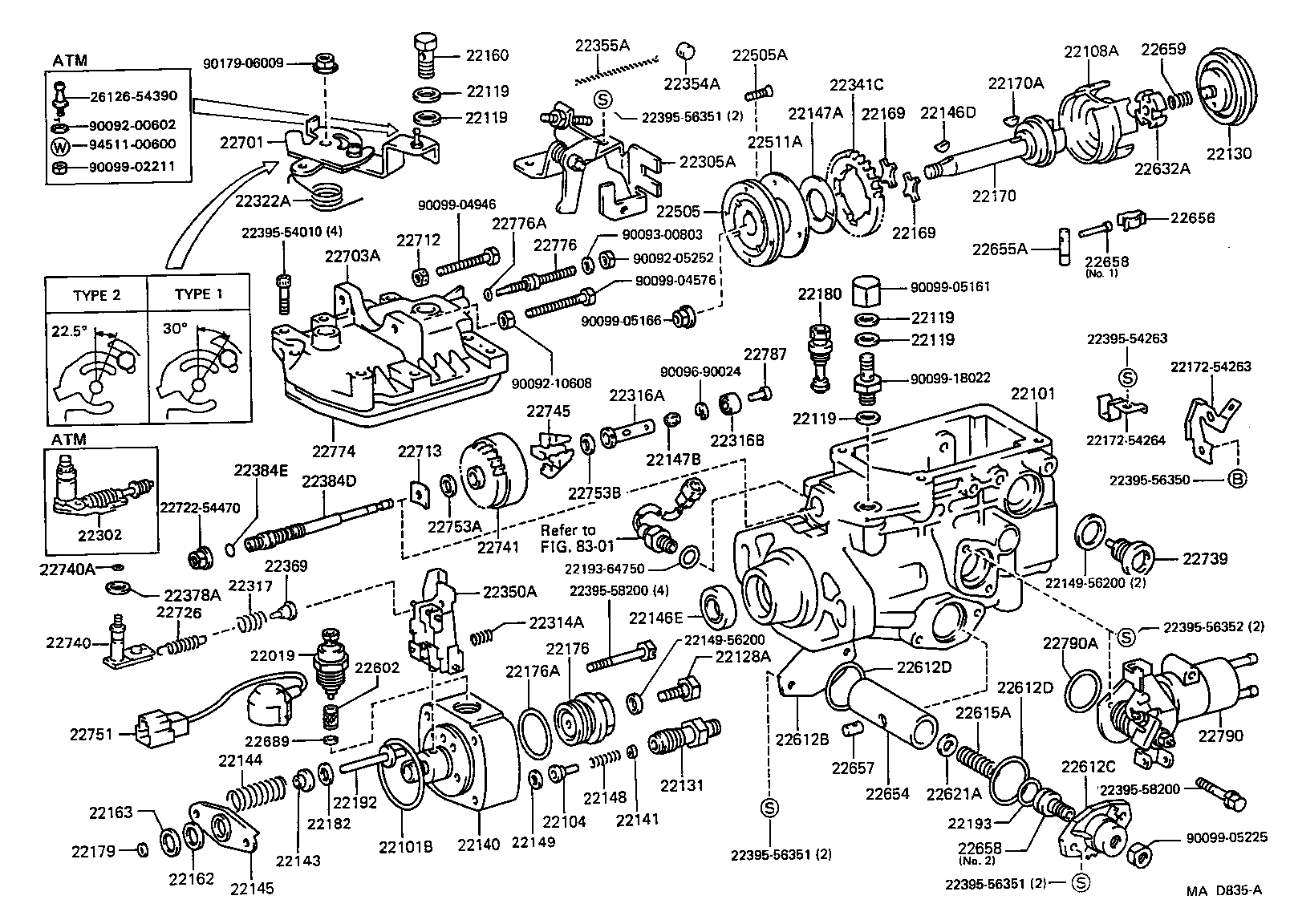 Mad A on 1991 Toyota Engine Parts
