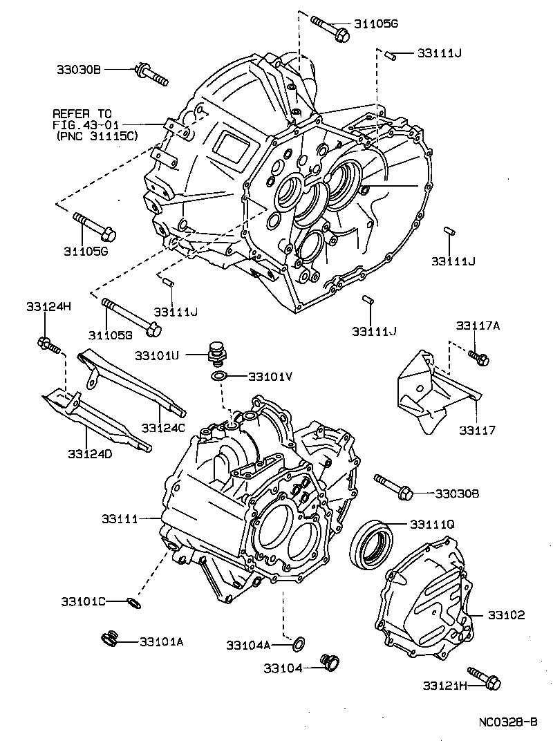 Toyota Transmission Diagrams Wiring Library. Corolla Wagon Clutch Housing Transmission Case Mtm. Toyota. 89 Toyota W56 Transmission Diagram At Scoala.co