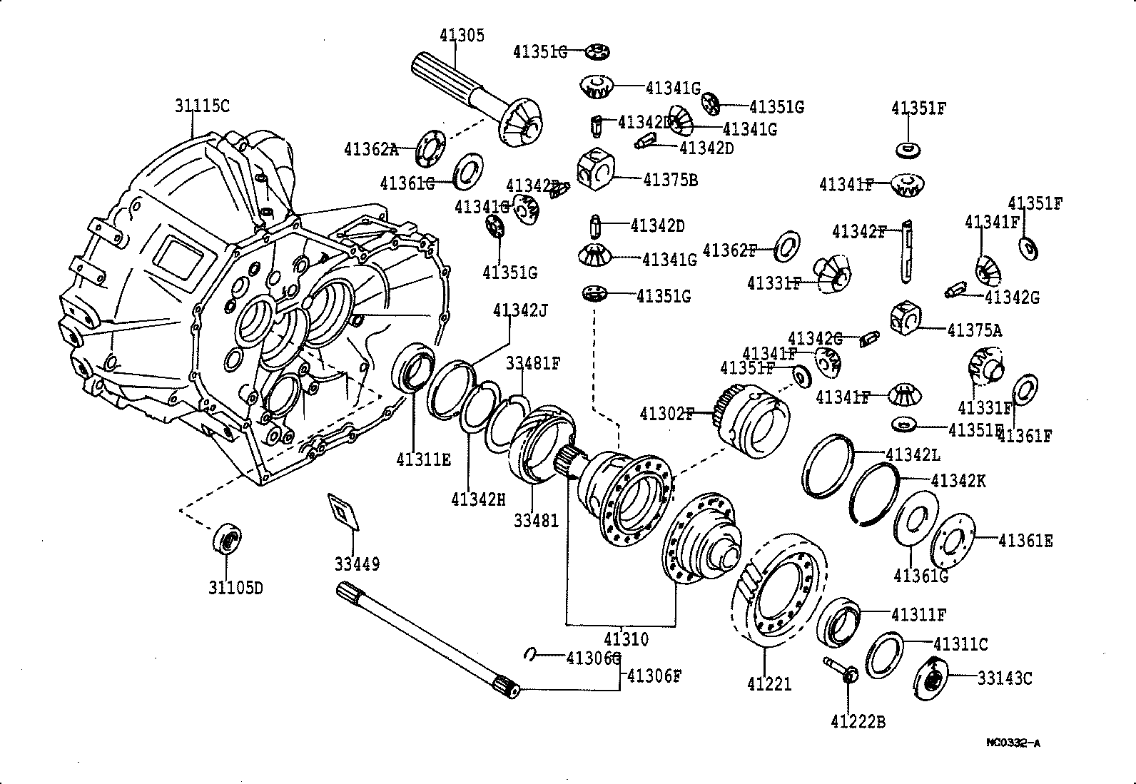 2000 Toyota 4runner Front Axle Vacuum Diagram Schematic Diagrams Differential Trusted Wiring Saab 9 3 1996