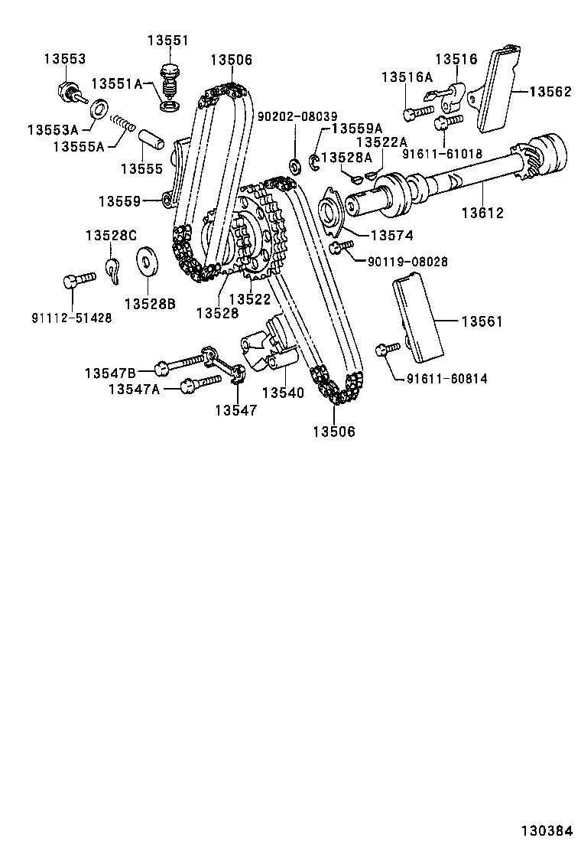 TOYOTA CELICARA40L-BLHSCC - TOOL-ENGINE-FUEL - TIMING CHAIN | Japan