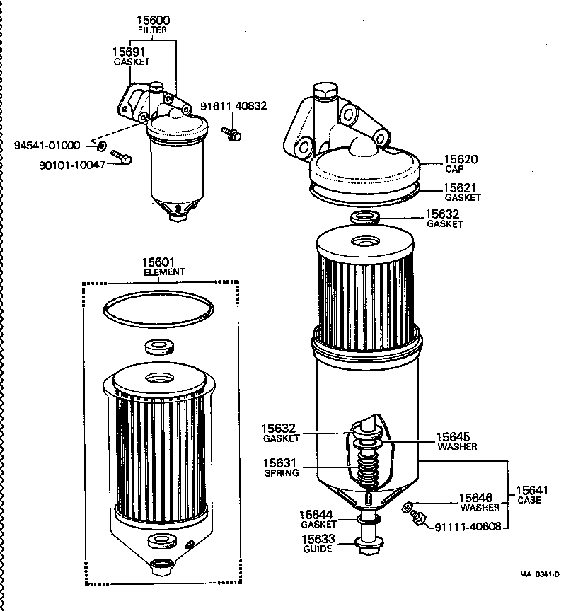 toyota hiluxrn25-jr - tool-engine-fuel