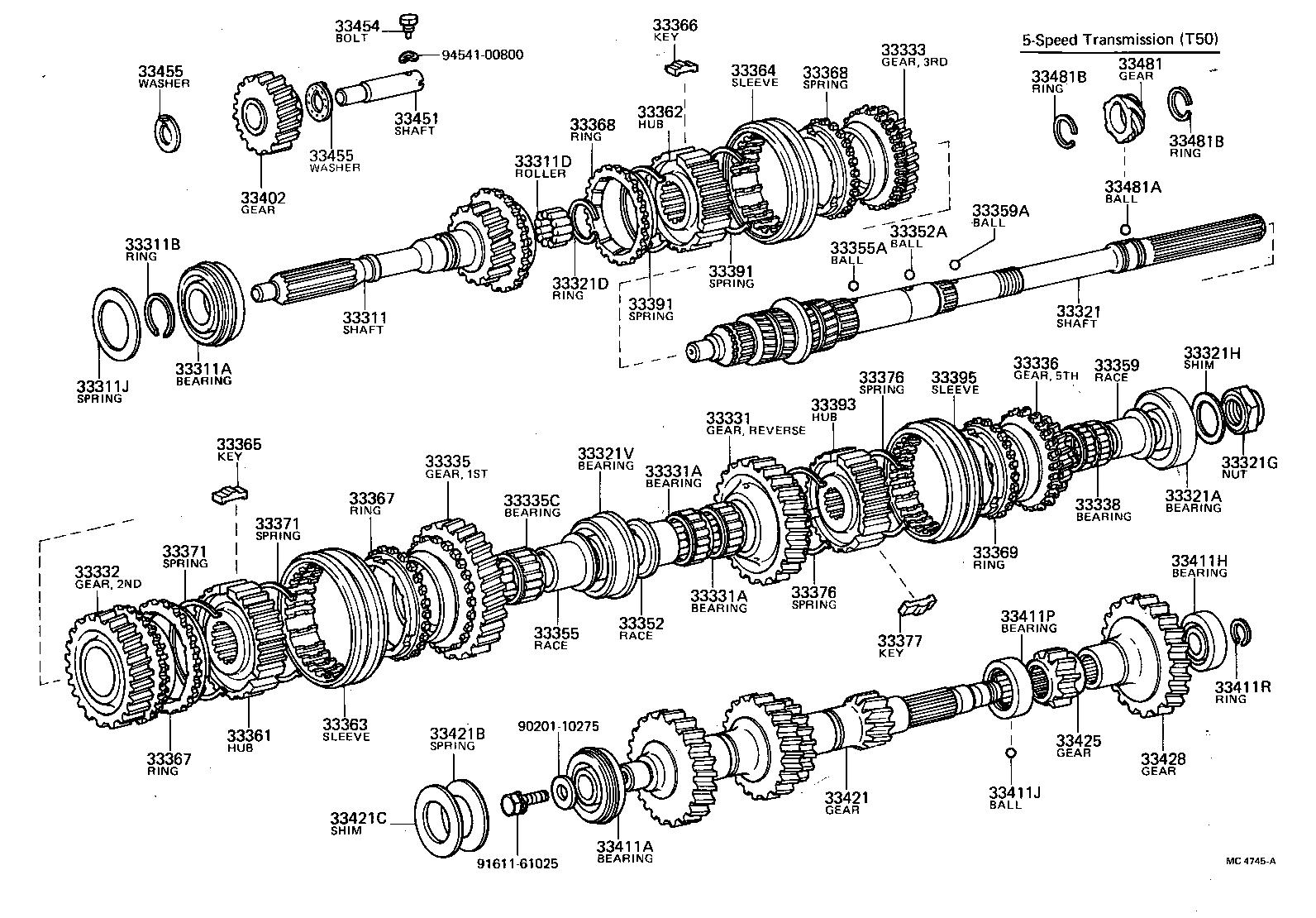 toyota corolla truenote47l mqzg powertrain chassis transmission rh japan parts eu 1995 toyota corolla transmission diagram toyota corolla automatic transmission diagram