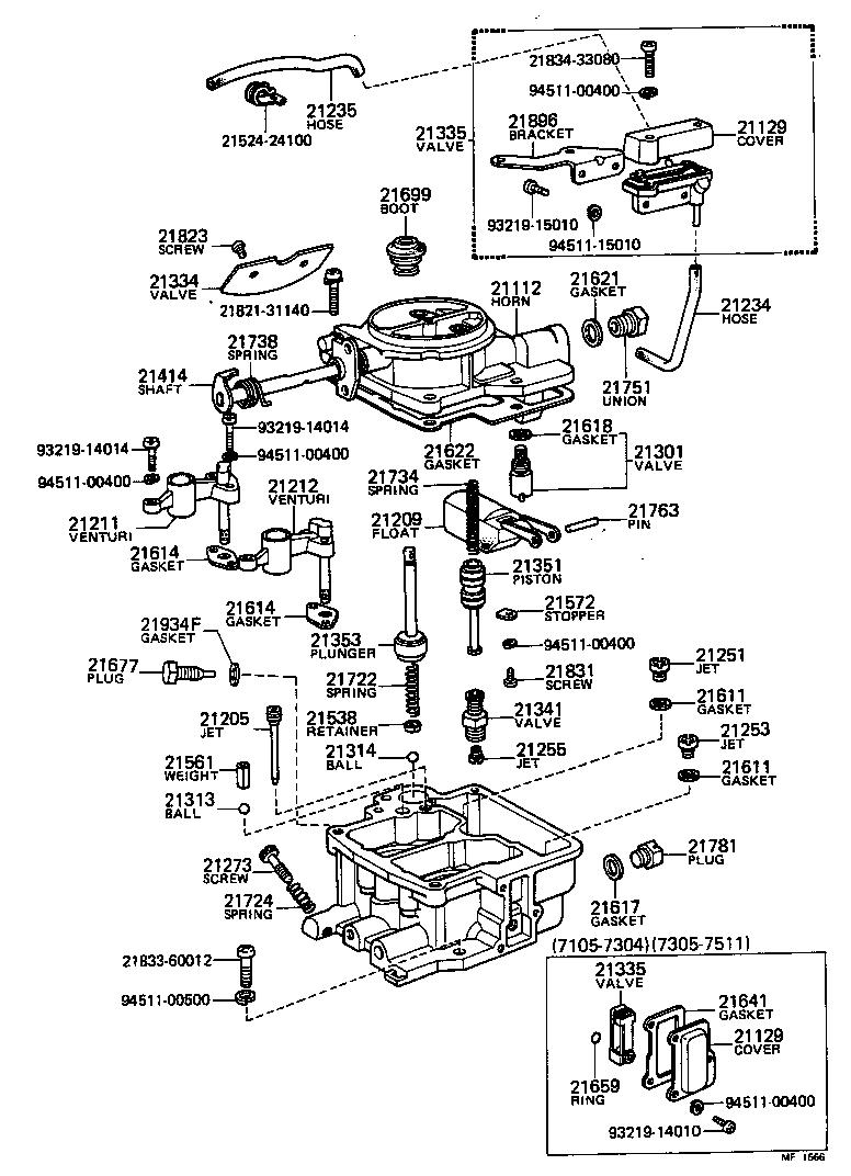 toyota liteacekm10-b - tool-engine-fuel