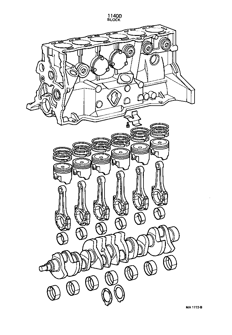 CROWN |  SHORT BLOCK ASSEMBLY