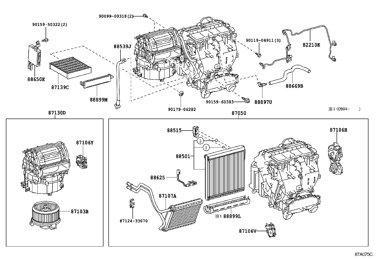 toyota alphard engine parts diagram