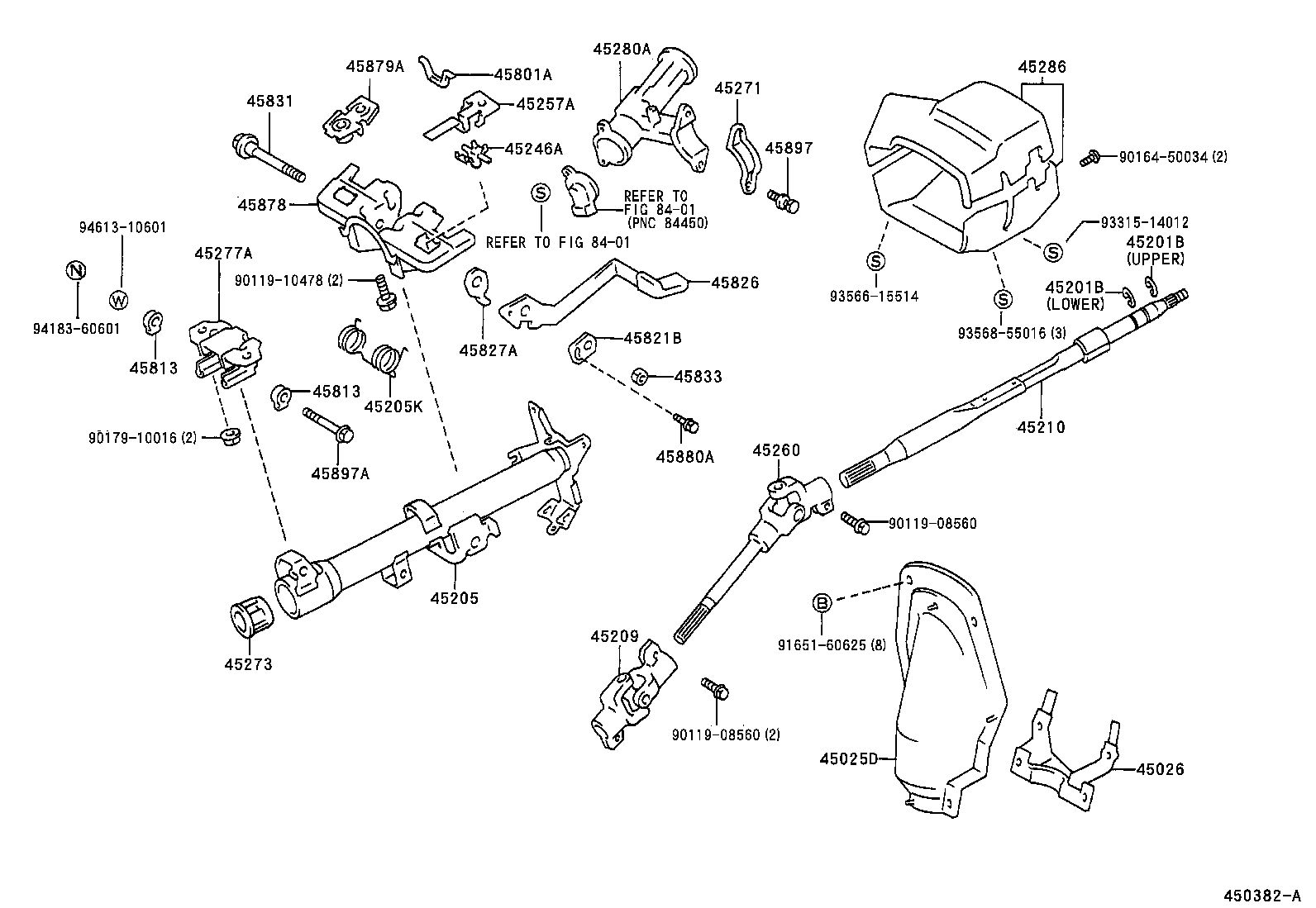 Steering Shaft Diagram Wiring Will Be A Thing 96 Celica Gt Radio Wire Toyota Corollaae110r Aepek Powertrain Chassis Cj7 Column 1991 Chevy Silverado
