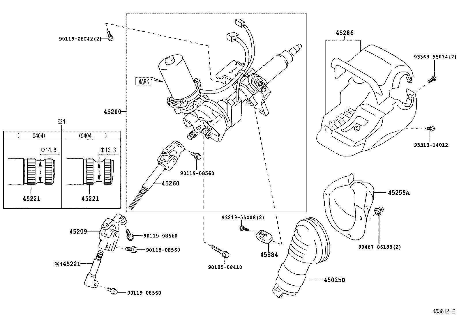 Toyota Priusnhw20l-aheebw - Powertrain-chassis