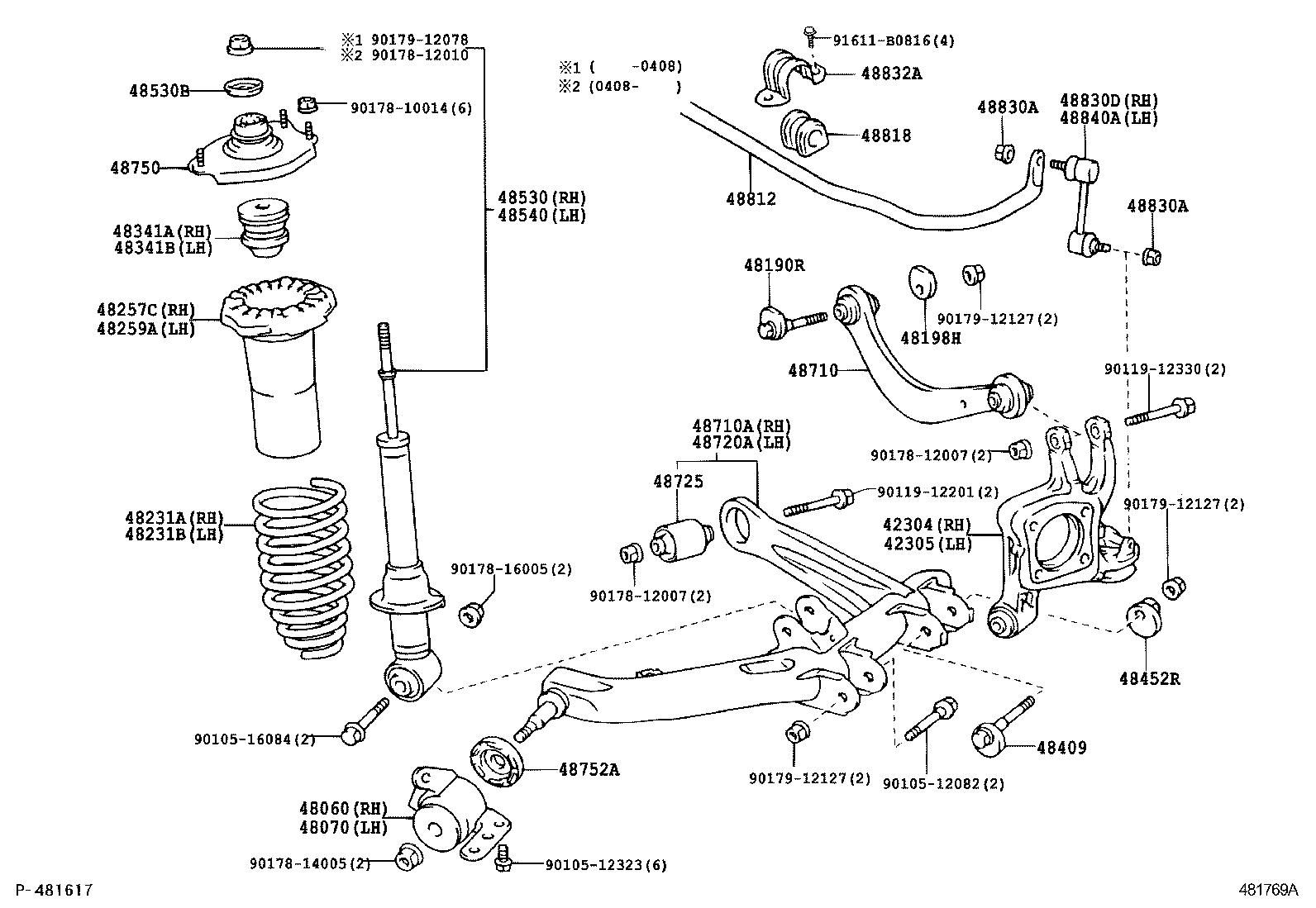 toyota wishane11r-jwpqkt - powertrain-chassis