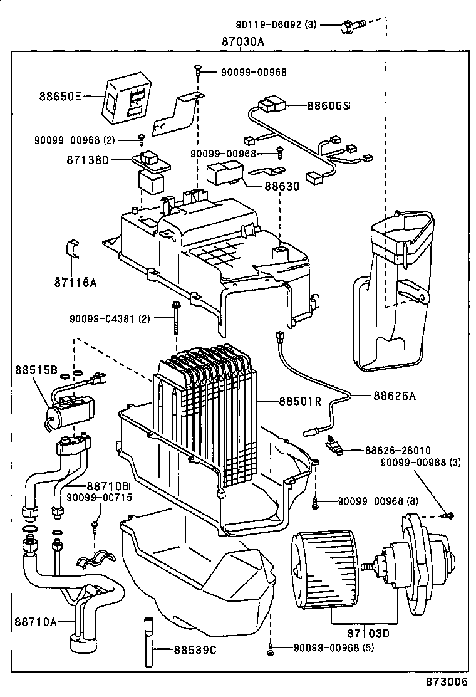 toyota land cruiser 100fzj100l-gnmnkv - electrical