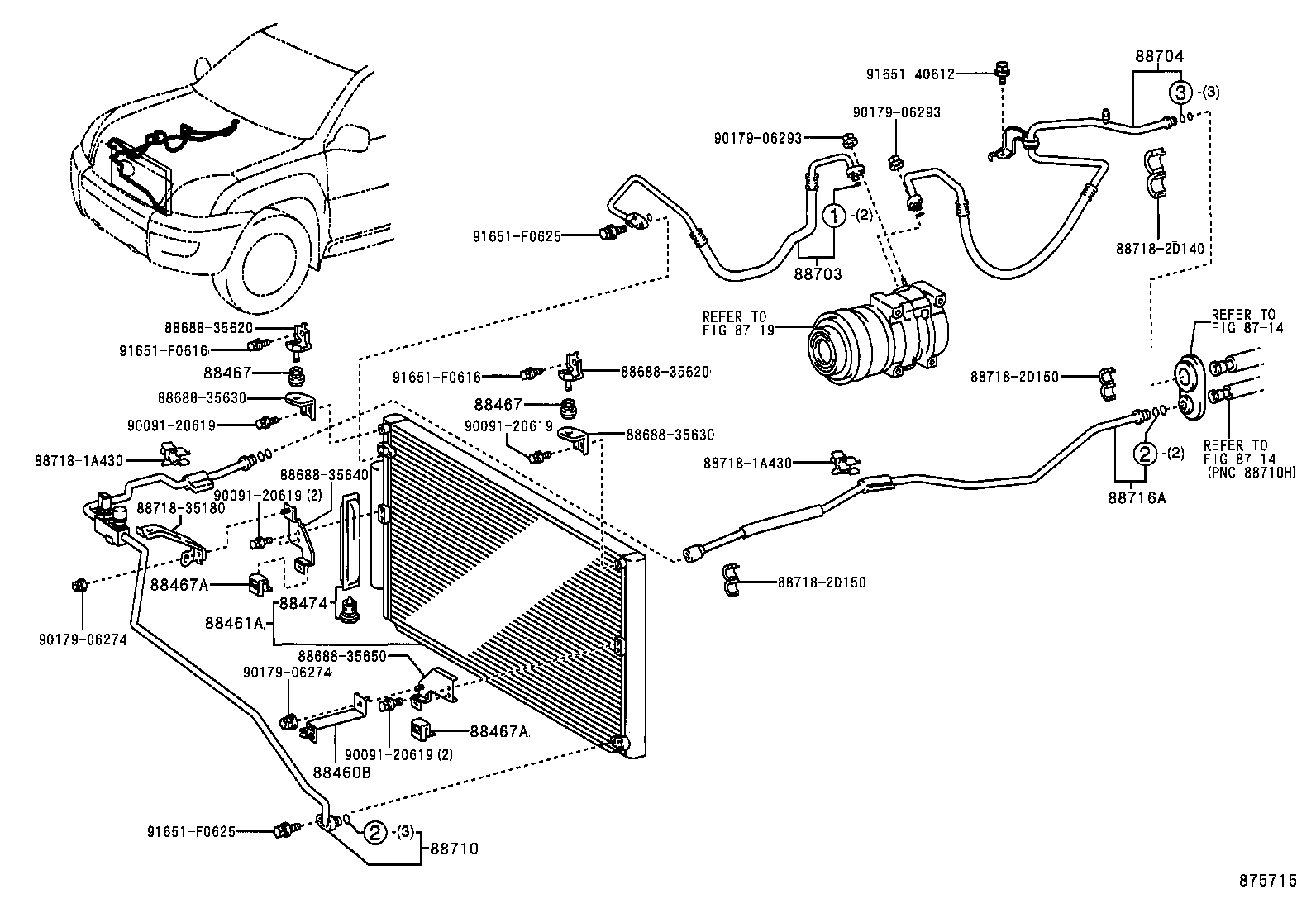 genuine toyota parts diagram  toyota  auto wiring diagram