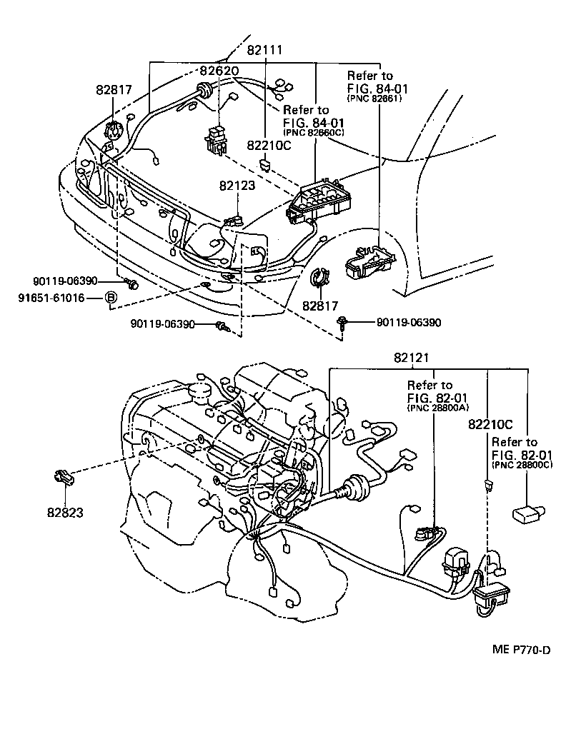 1993 toyota previa parts diagram