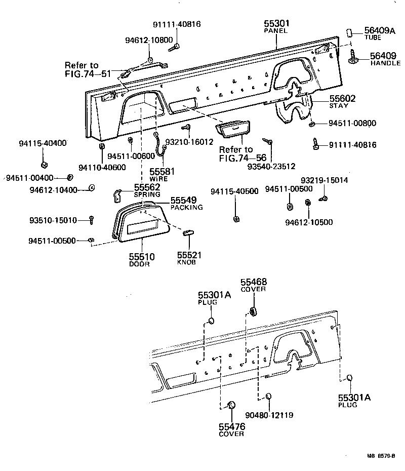 toyota land cruiser 40fj40- - body