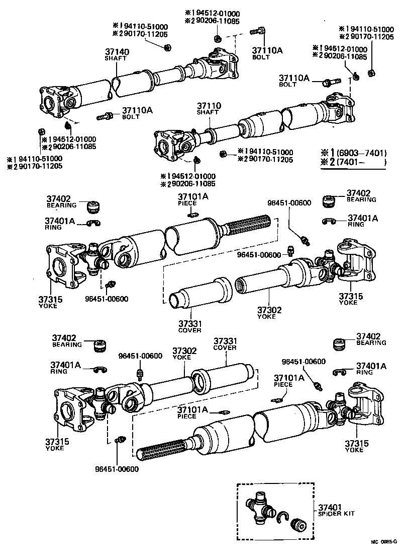 toyota land cruiser 40fj40-c