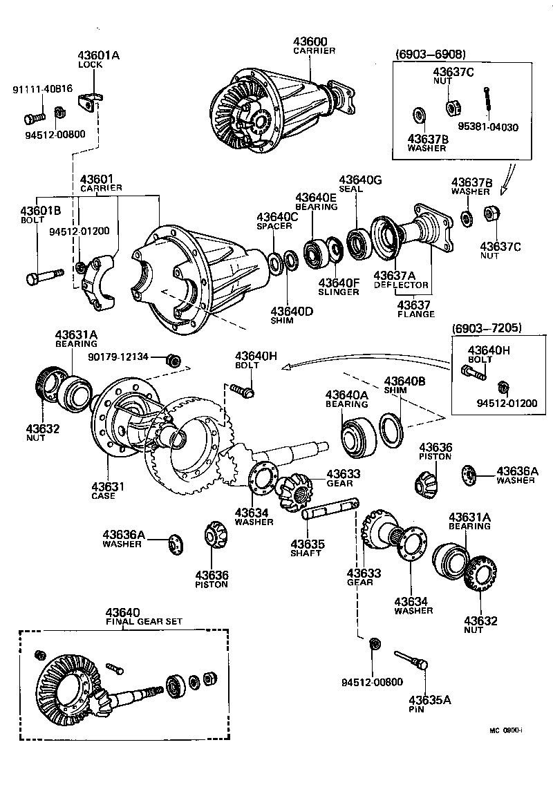 75 Fj40 Fj45 Fj55 Front Axle Hub Illustration Diagram Drum Brakes