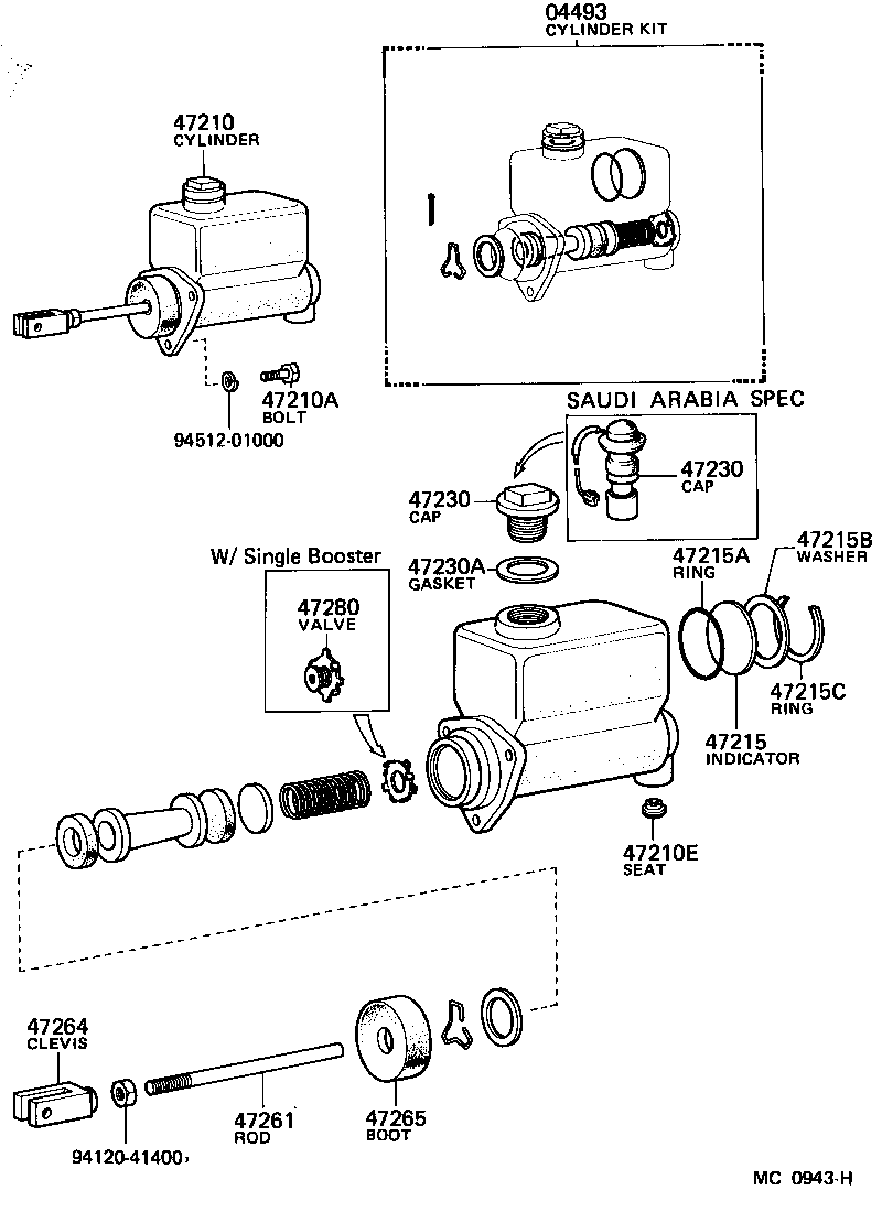 toyota heavy duty truckda116- - powertrain-chassis