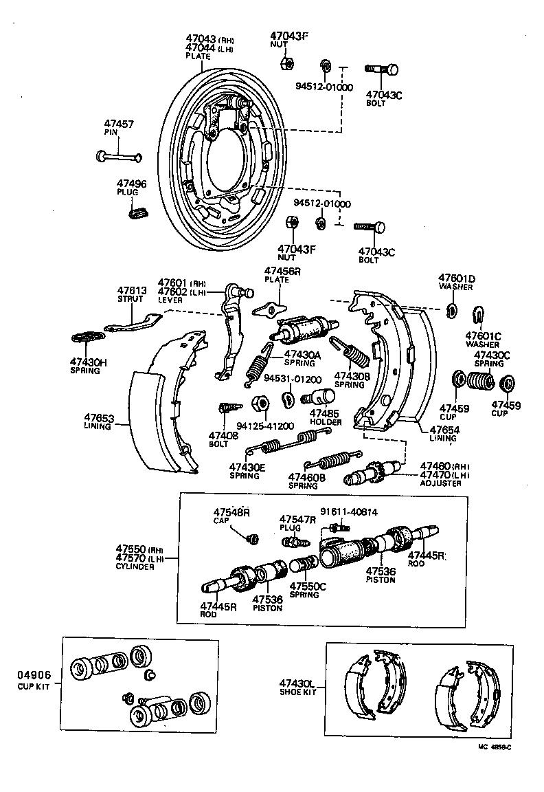 toyota hiacelh30lv-qrfew - powertrain-chassis
