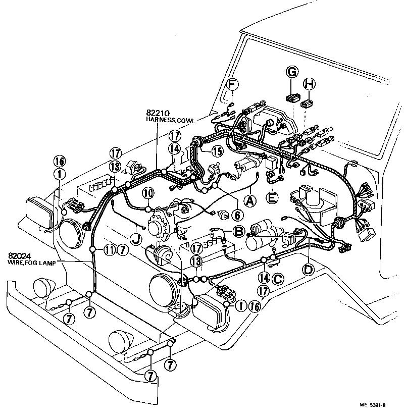 1978 Fj40 Ke Lamp Wiring Diagram Wiring Diagram For Electrical