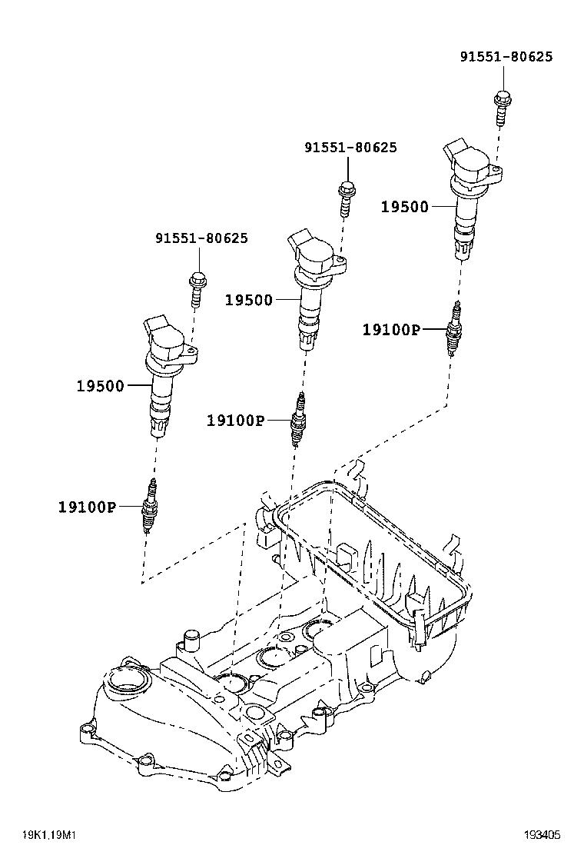 toyota passokgc35-aheck - tool-engine-fuel