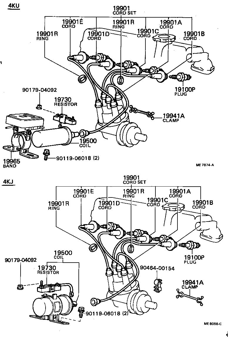 toyota engine parts diagram ignition wiring library Toyota Schematic Diagrams corolla ignition coil spark plug toyota
