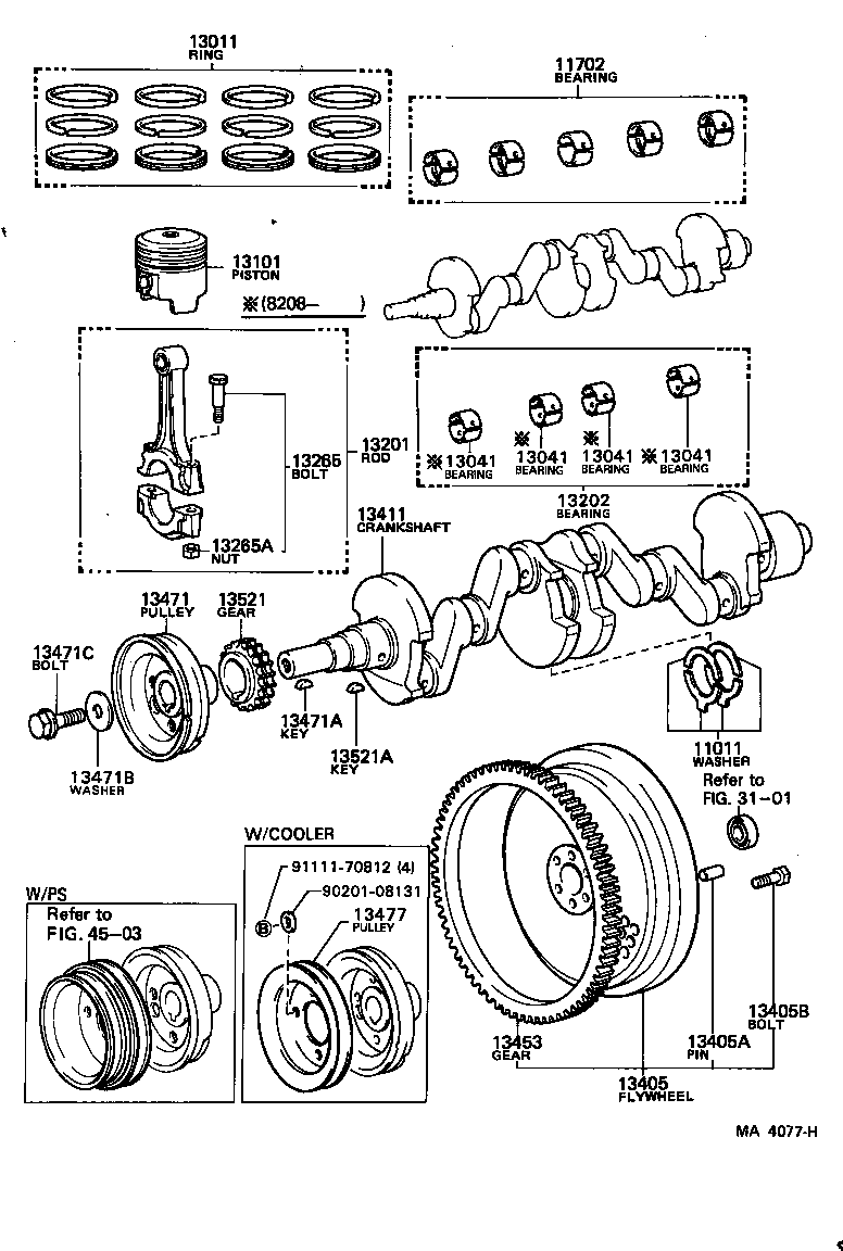 Toyota 3au Engine