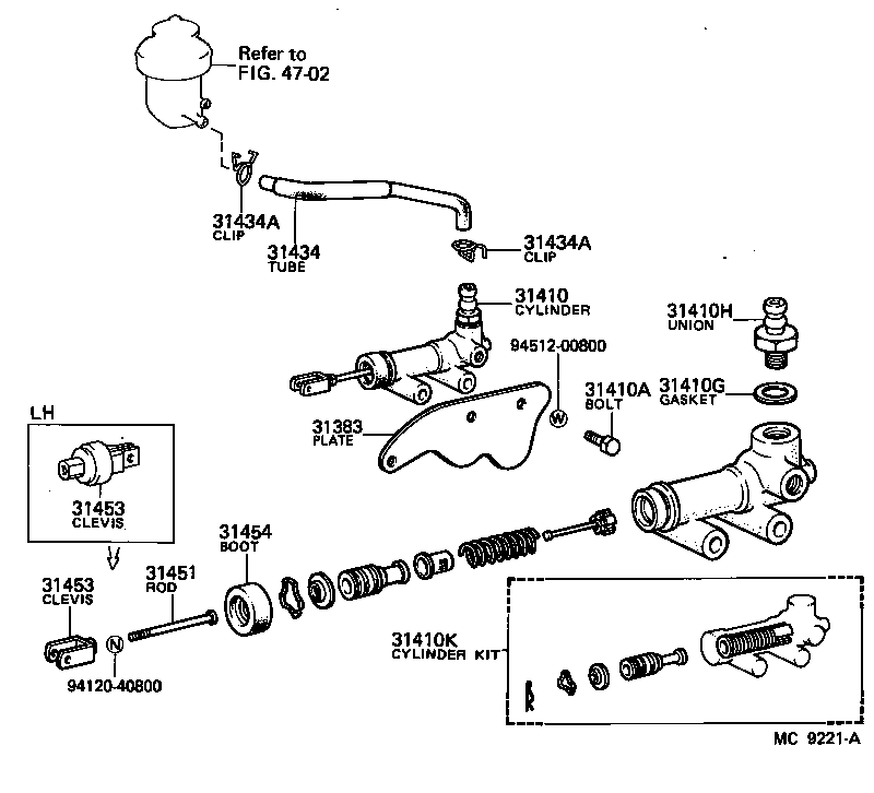Toyota Transmission Schematics moreover Fuel System Wiring Diagram 1988 Ford F150 in addition Wabco Abs D Wiring Diagram additionally Toyota Clutch Master Cylinder Location also 324. on slave cylinder wiring diagram