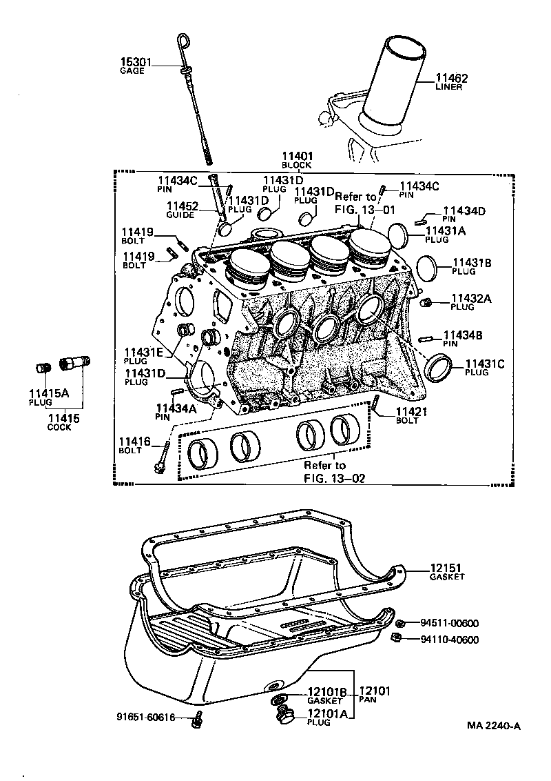 toyota publicakp31-x - tool-engine-fuel - cylinder block   japan parts eu  japan parts eu