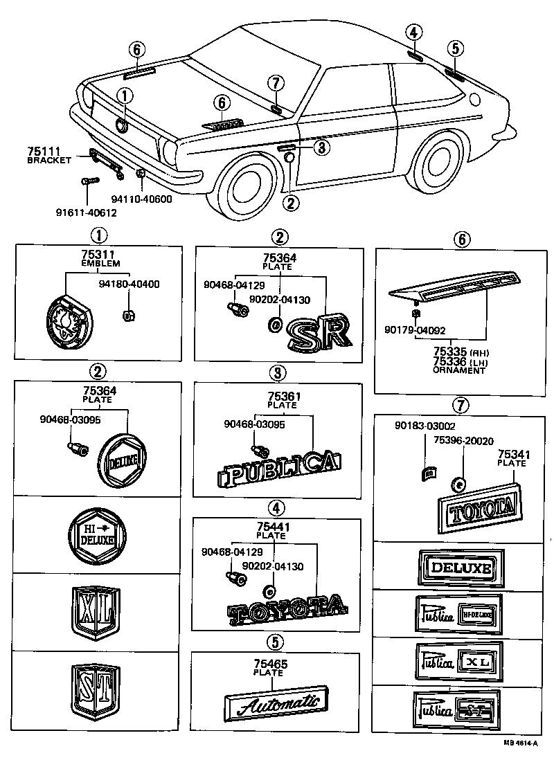 toyota publicakp31-x - body