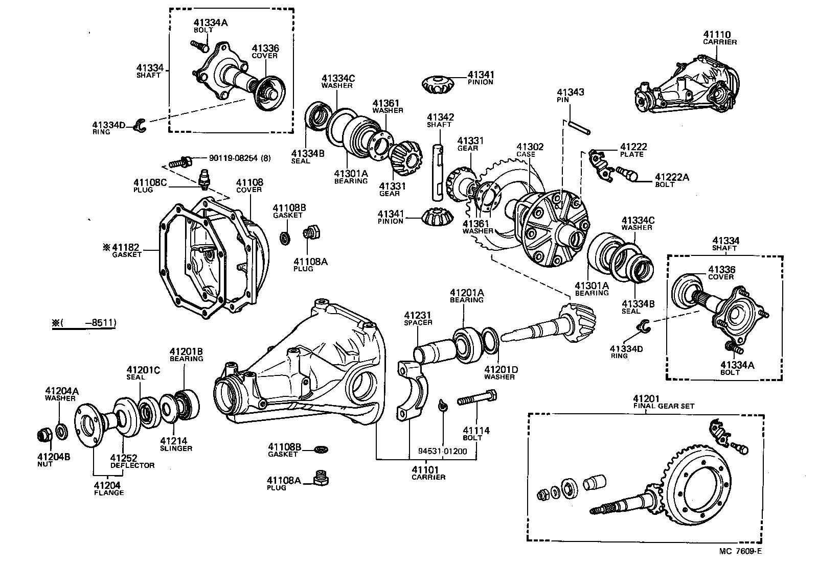 Toyota    Supra    Differential       Diagram     ImageResizerToolCom