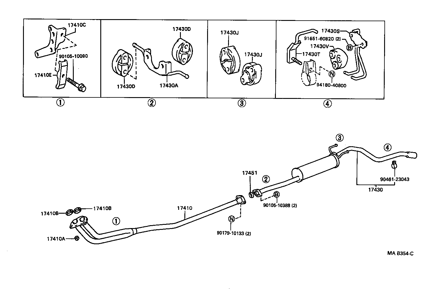 2000 Toyota Camry Exhaust Diagram Schematics 4runner Wiring 1993 System Diagrams Data Base 1992