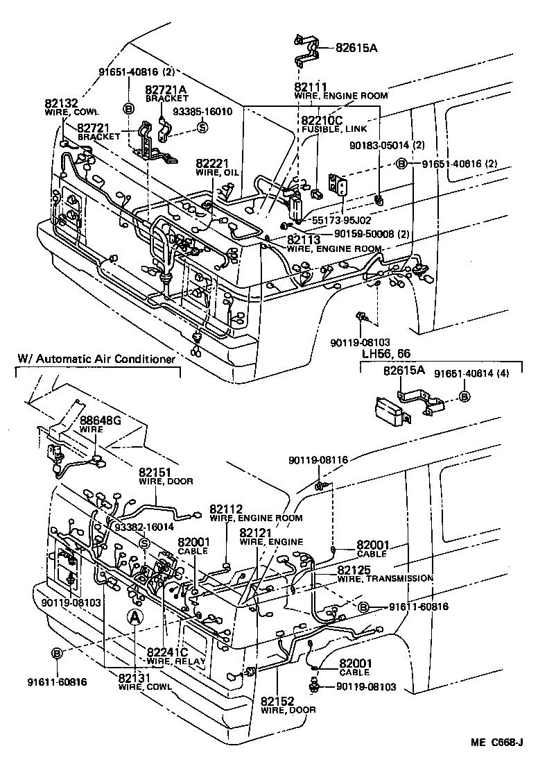 Toyota Hiace Van Wiring Diagram